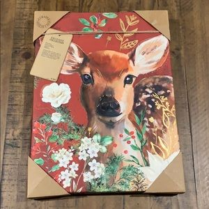 Canvas picture of a deer